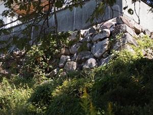 棚倉城お石垣