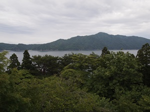 舘ヶ崎展望台から見た宮古湾