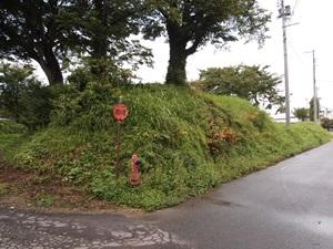 小松城の土塁