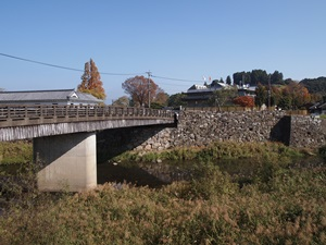 胸川と大手橋